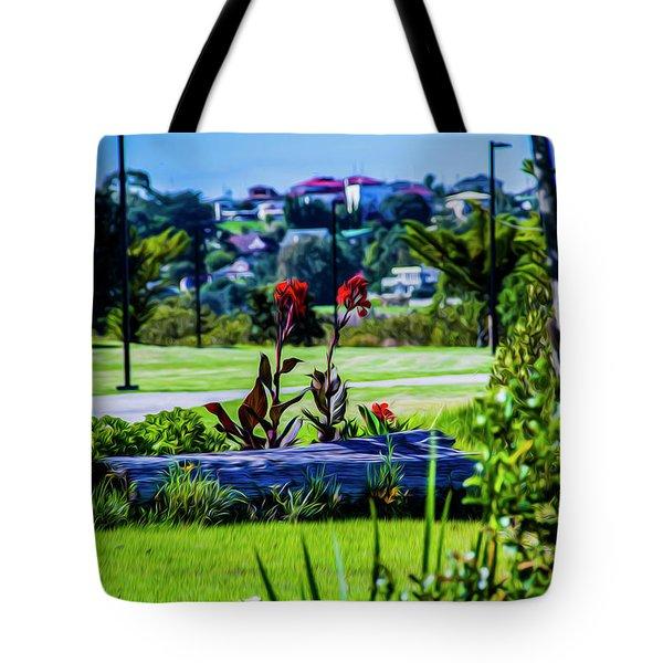 Garden Log Tote Bag