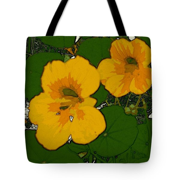 Garden Love Tote Bag by Winsome Gunning