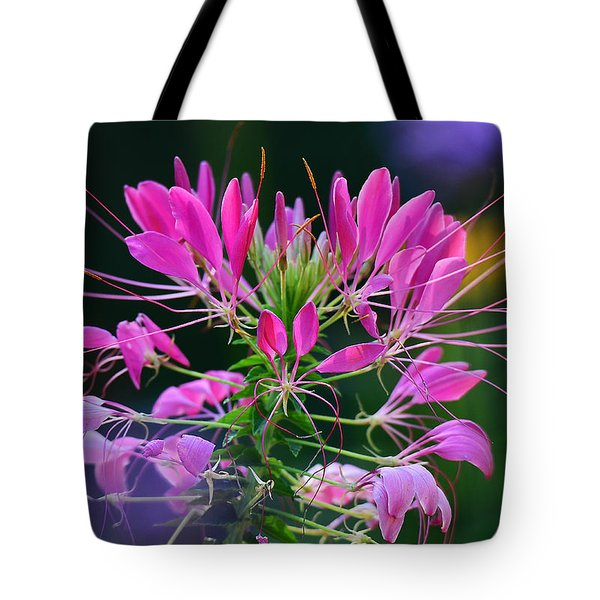Tote Bag featuring the photograph Garden Magic by Rodney Campbell