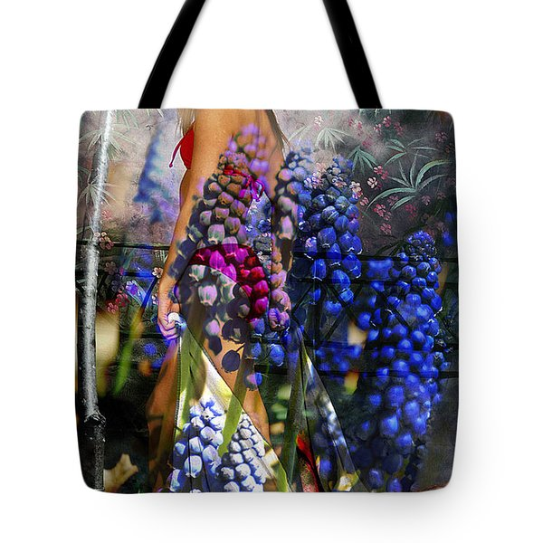 Garden Nymph Tote Bag