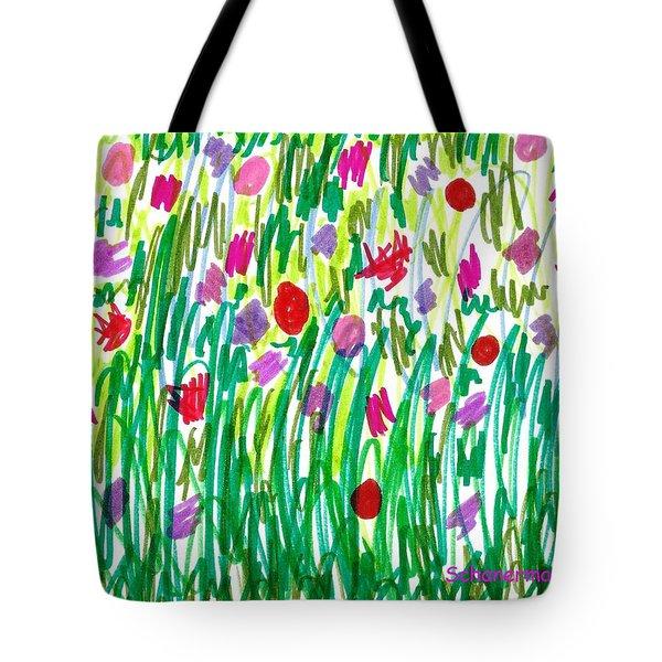 Garden Of Flowers Tote Bag