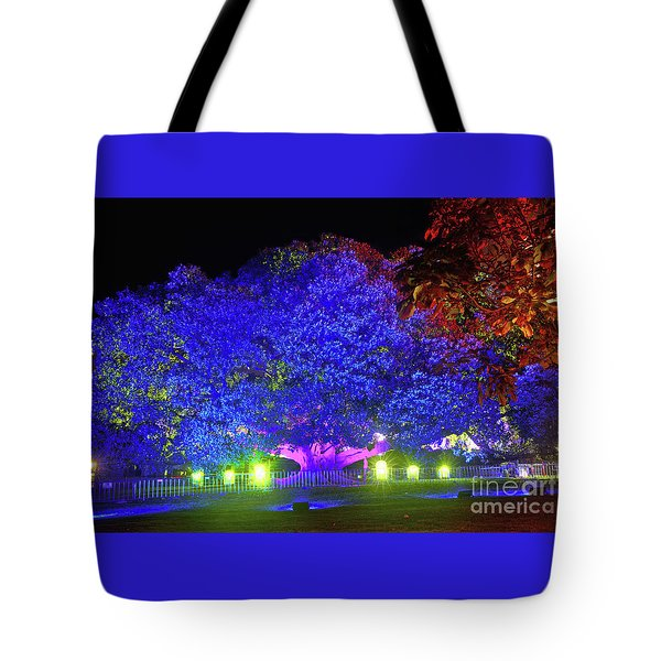 Tote Bag featuring the photograph Garden Of Light By Kaye Menner by Kaye Menner