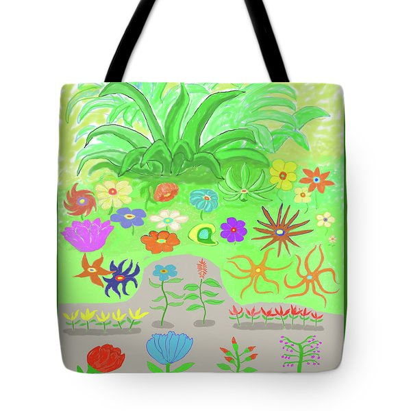 Garden Of Memories Tote Bag by Fred Jinkins