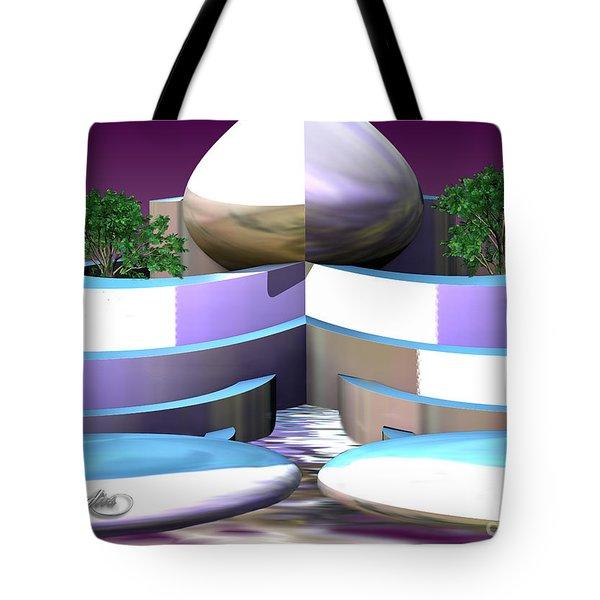 Garden Of Nemesis Cloud Tote Bag
