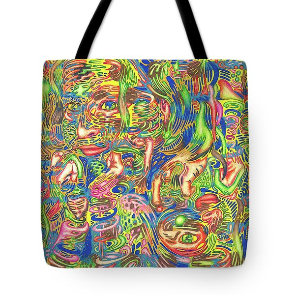 Garden Of Reflections Tote Bag