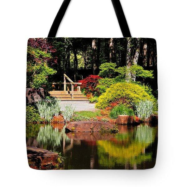 Garden Of Solitude Tote Bag