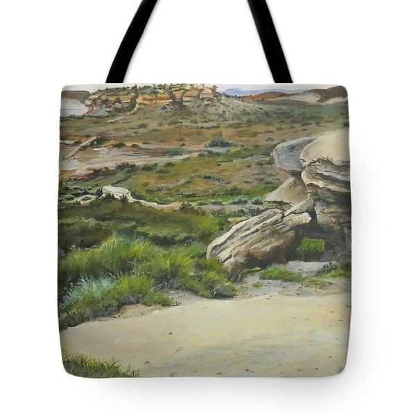 Garden Of Stone Tote Bag