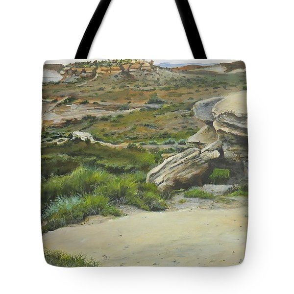 Garden Of Stone Tote Bag