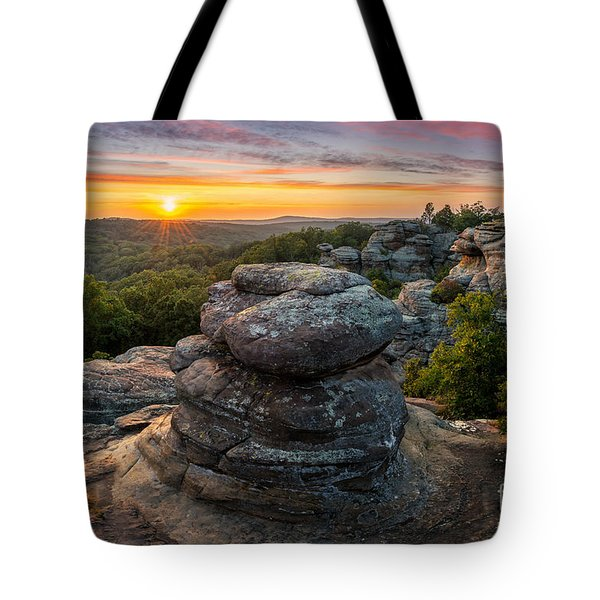 Garden Of The Gods Tote Bag by Anthony Heflin