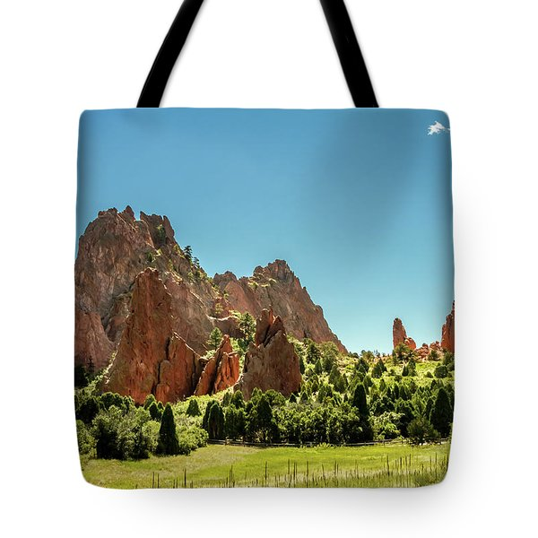 Tote Bag featuring the photograph Garden Of The Gods II by Bill Gallagher