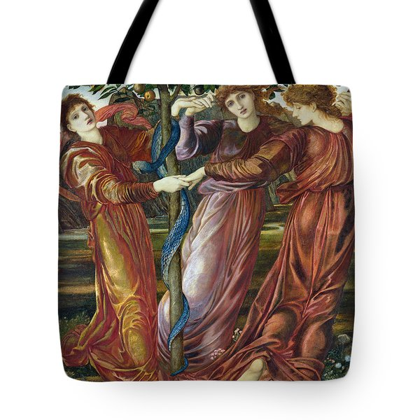 Garden Of The Hesperides Tote Bag by Sir Edward Burne Jones