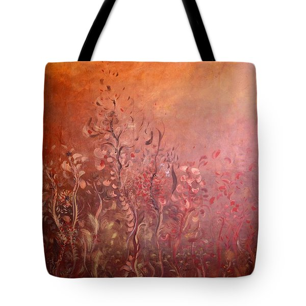 Garden Of The Sacred Fire Artbox Project 1 Basel Tote Bag