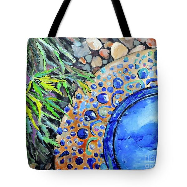 Garden Ornament Tote Bag