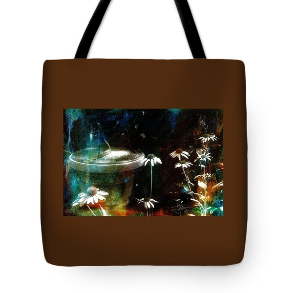 Garden Party Tote Bag by Jim Vance