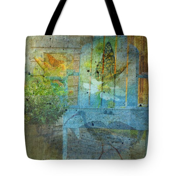 Garden Party  Tote Bag by Mary Ward