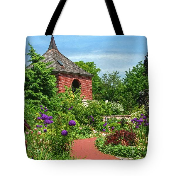 Garden Path Tote Bag by Trey Foerster