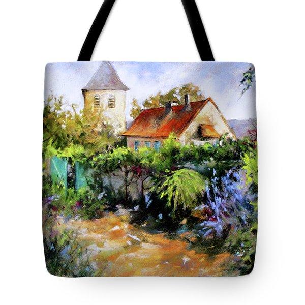 Garden Pleasures Tote Bag by Rae Andrews