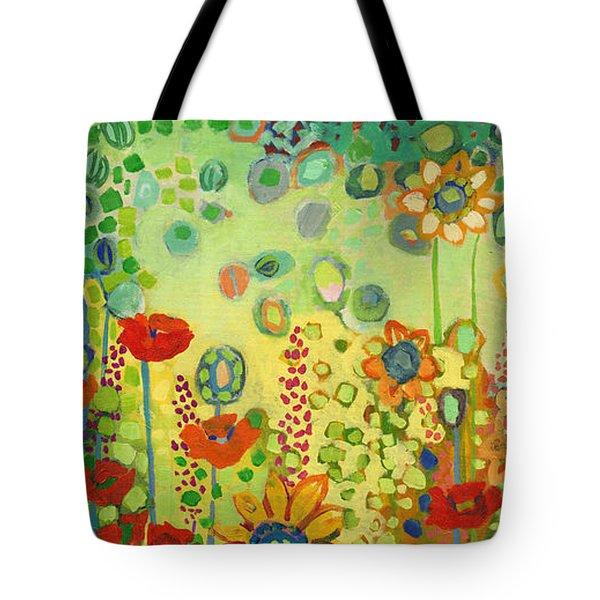 Garden Poetry Tote Bag