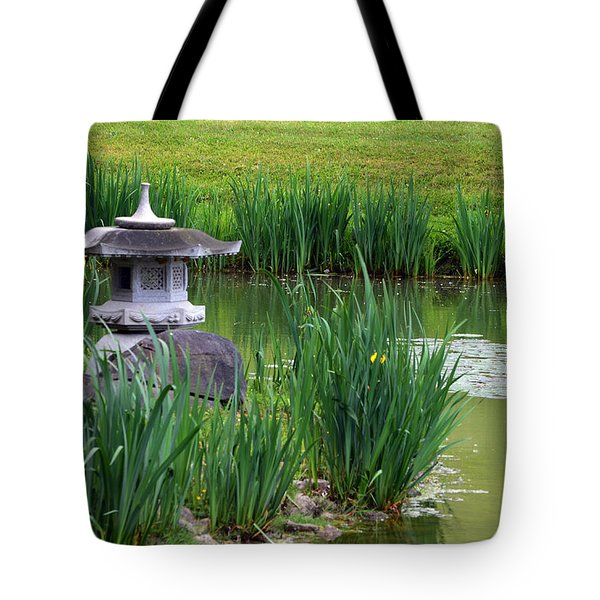 Garden Pond Tote Bag