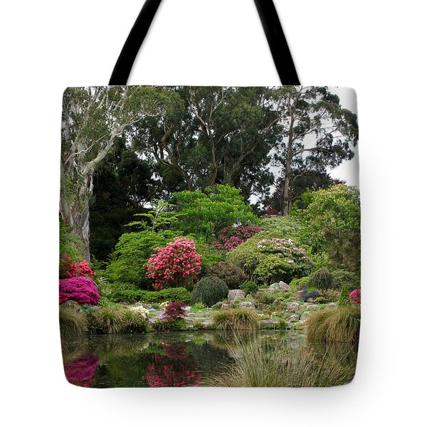 Garden Reflection Tote Bag