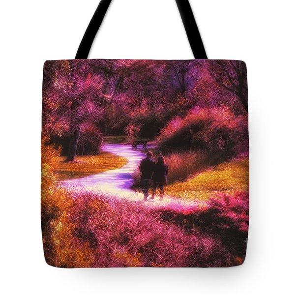 Garden Romance Tote Bag