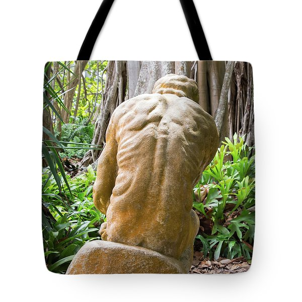 Garden Sculpture 1 Tote Bag