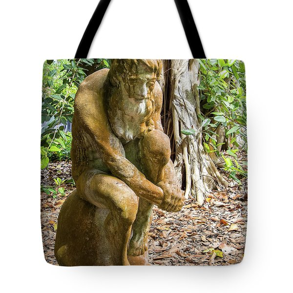 Garden Sculpture 3 Tote Bag