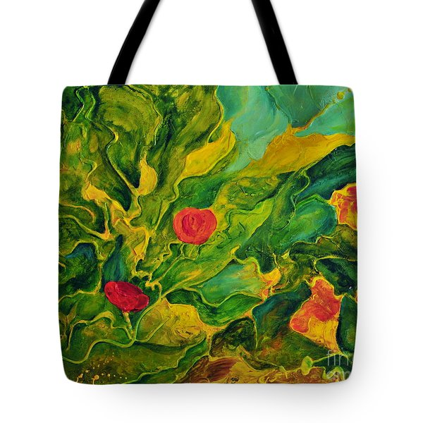 Garden Series Tote Bag by Teresa Wegrzyn