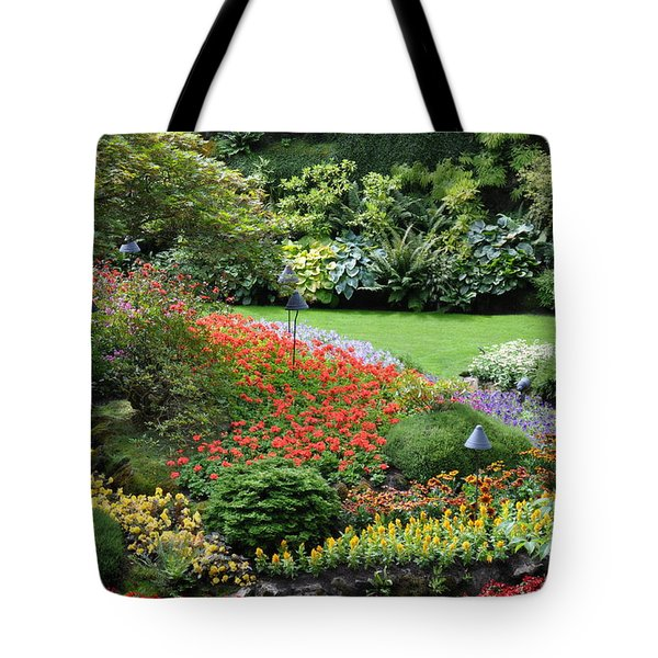 Garden Tapestry 4 Tote Bag by Tanya  Searcy