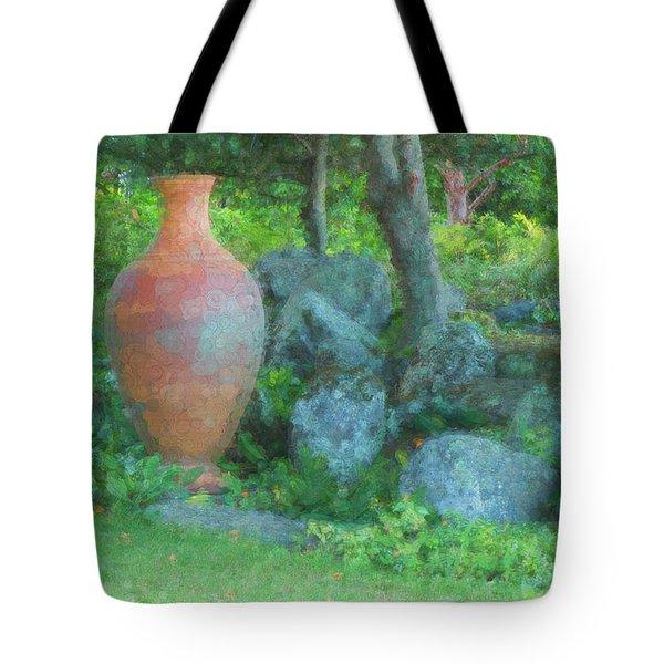 Garden Urn Tote Bag
