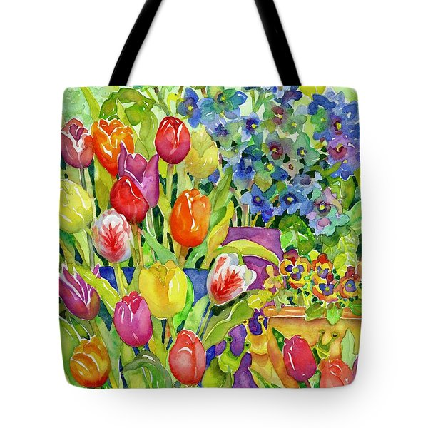 Garden Visitors Tote Bag