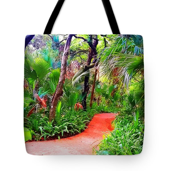 Garden Walk Tote Bag
