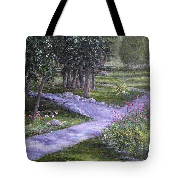 Garden Walk Tote Bag
