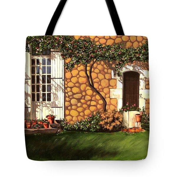Garden Wall Tote Bag