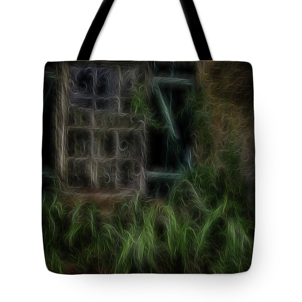 Garden Window 2 Tote Bag by William Horden