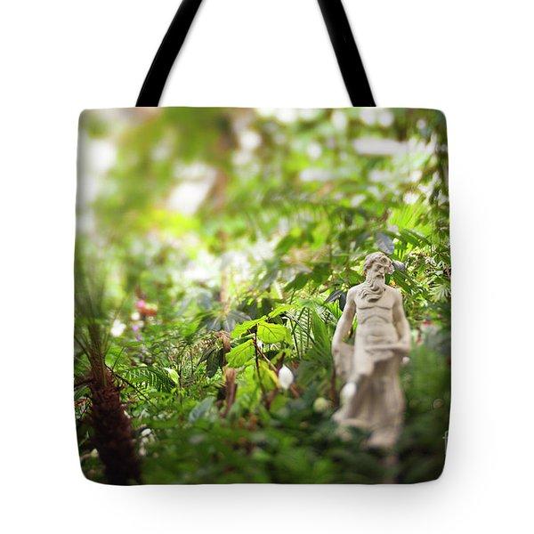 Garden Zeus Tote Bag