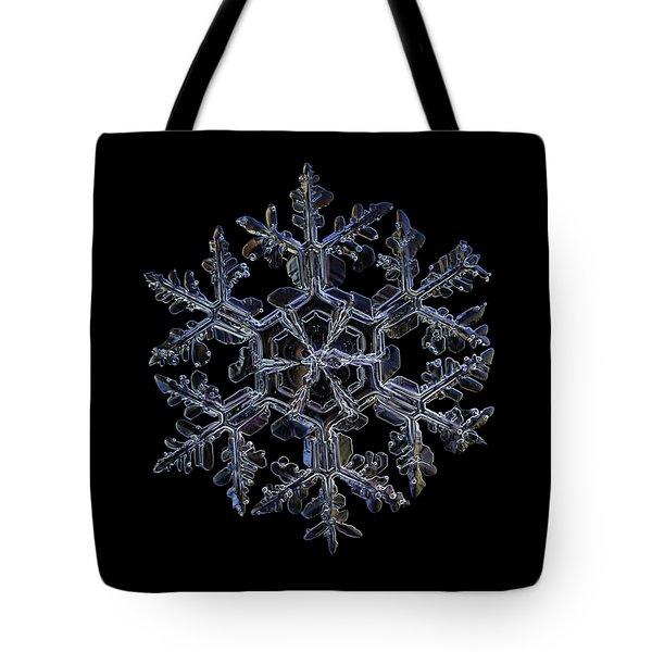 Gardener's Dream, Dark On Black Version Tote Bag