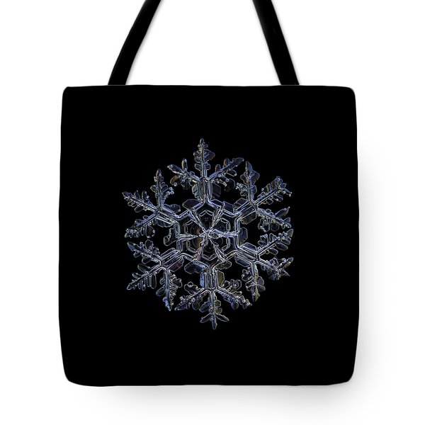 Gardener's Dream, Dark On Black Version Tote Bag