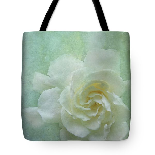Gardenia Tote Bag by Catherine Alfidi