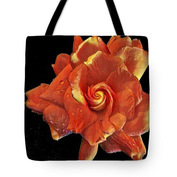 Gardenia For Madam Pele Tote Bag