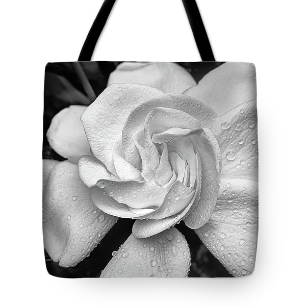 Tote Bag featuring the photograph Gardenia The Scent Of The South by JC Findley