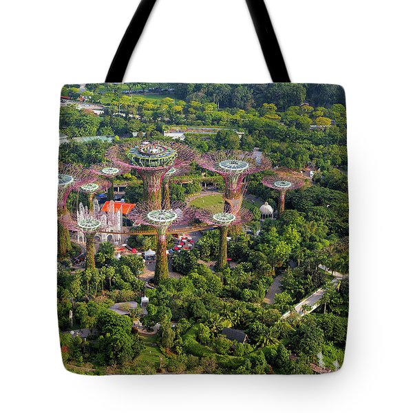 Gardens By The Bay Tote Bag by David Gn