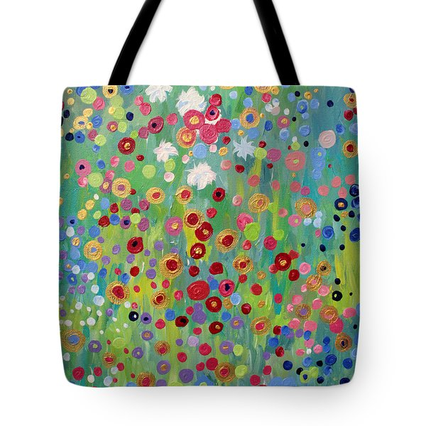 Garden's Dance Tote Bag