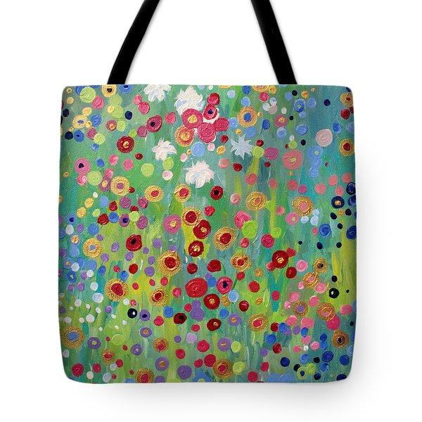 Garden's Dance Tote Bag