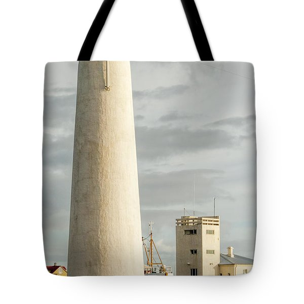 Gardskagi Lighthouse Iceland Tote Bag