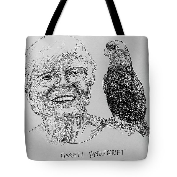 Gareth Vandegrift Tote Bag