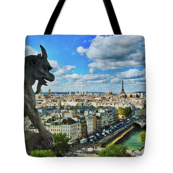 Gargoyle With A View Tote Bag