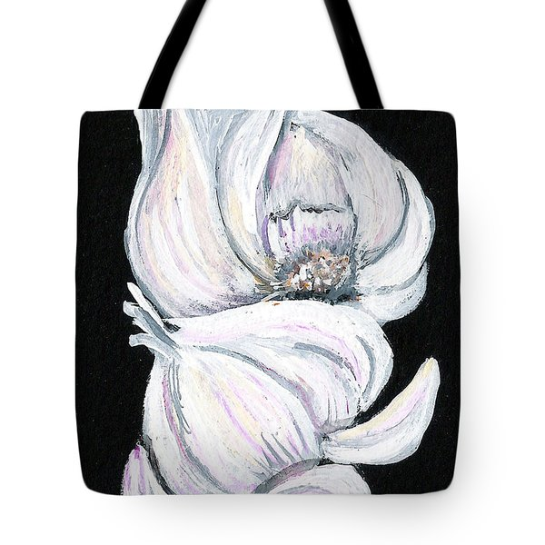 Garlic 2 Tote Bag by Elaine Hodges