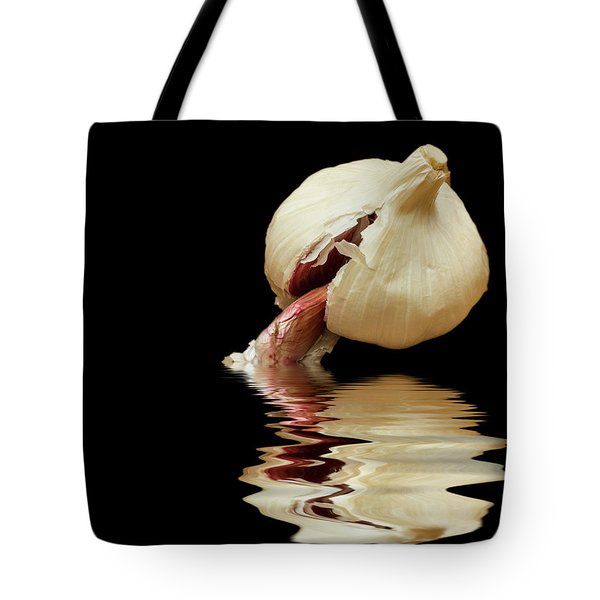 Tote Bag featuring the photograph Garlic Cloves Of Garlic by David French