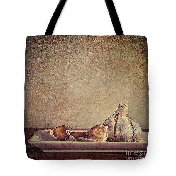 Garlic Cloves Tote Bag